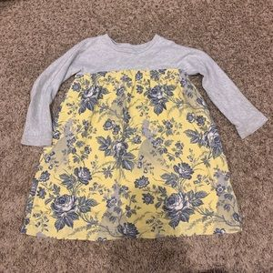 Baby GAP Disney belle long sleeve dress 5t